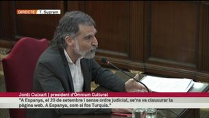 """Cuixart: """"El dret a votar a Catalunya es guanya votant"""""""