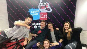 """Abraham Orriols i l'equip d'""""Adolescents iCat"""""""