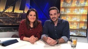 """Francesc Garriga i Laia Tudel: """"A la tele el repte és mantenir l'esperit de proximitat que dóna a la ràdio"""""""