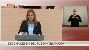 """Jéssica Albiach (En Comú Podem): """"Les lògiques del partits s'estan imposant a les necessitats del país"""""""