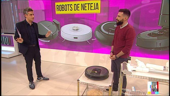 Robots i gadgets de neteja per a la llar
