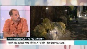 """Jordi Regàs: """"Hem de ser responsables de la nostra pròpia brossa"""""""