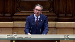 El Ple del parlament convalida el decret sobre els avals després que el consell de garanties estatutàries ha dictaminat que s'ajusta a l'estatut i la Constitució