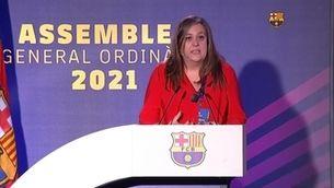 La vicepresidenta Elena Fort