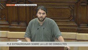 Intervenció de Ferran Pedret, PSC, al Ple sobre la Llei de Consultes