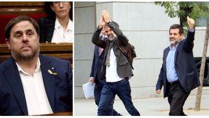 Junqueras, Sànchez i Cuixart es declaren víctimes d'un procés polític i d'un jutge parcial