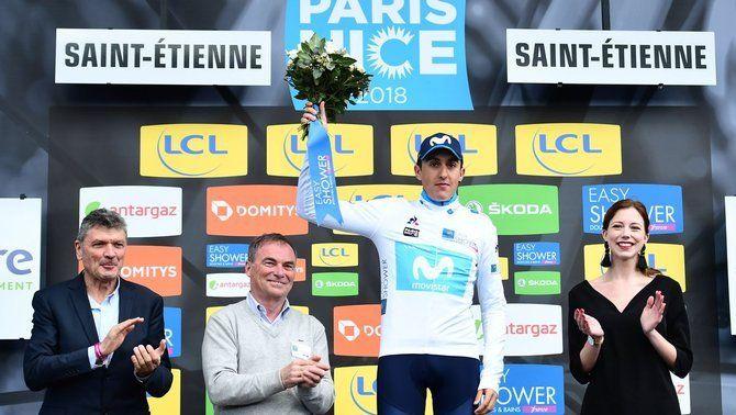 Marc Soler acaba segon a la contrarellotge de la París-Niça i puja a la quarta posició de la general