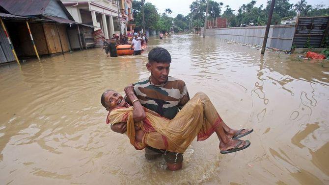 Un monsó molt actiu provoca grans inundacions al sud-est asiàtic