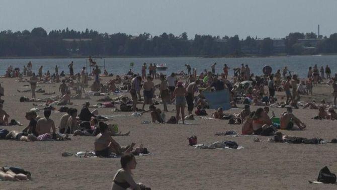 Finlàndia assoleix la temperatura més alta del juny des del 1939