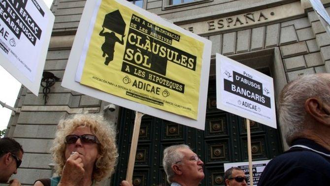 Clàusules sòl: el banc no pot obligar el client a renunciar a la reclamació