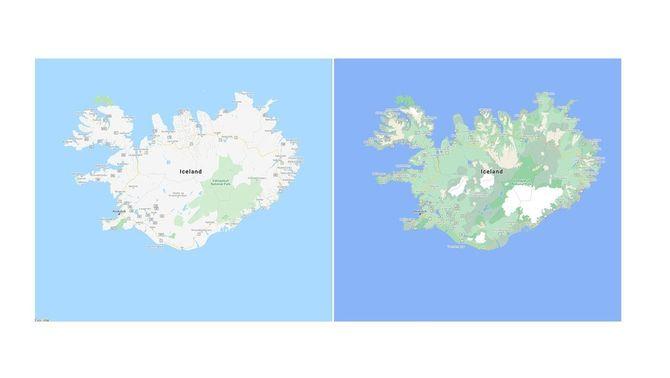 El paisatge d'Islàndia ara és més fàcil de visualitzar