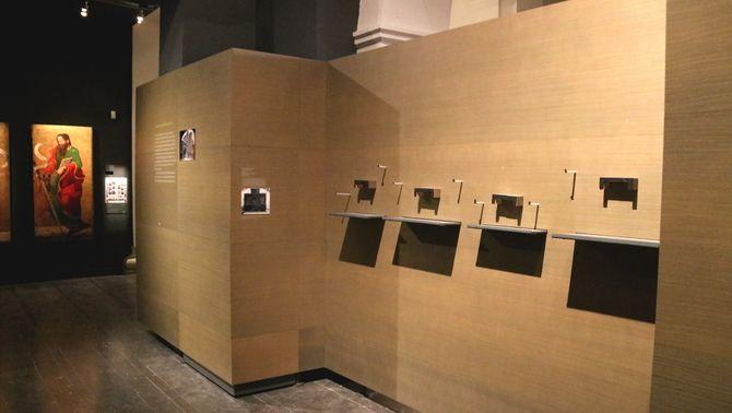 Lleixes buides al Museu de Lleida, 12 de desembre de 2017