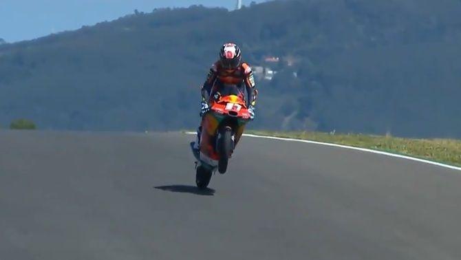 Nova exhibició de Pedro Acosta a Moto3