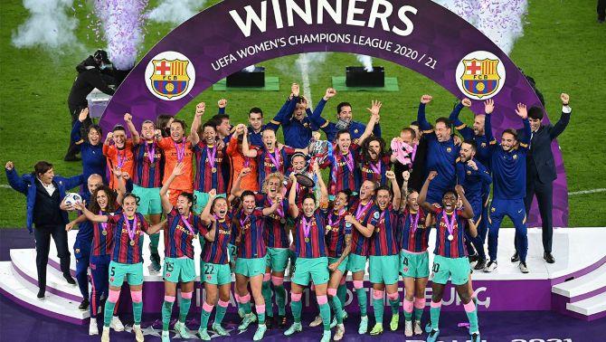 1.670.000 espectadors connecten amb la final de la Lliga de Campions femenina, en un cap de setmana en què TV3 és líder