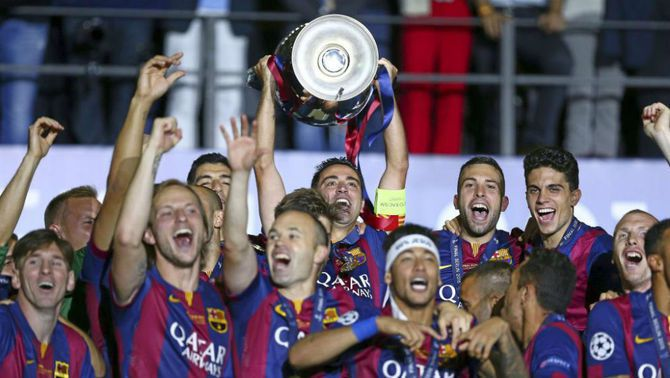 Es filtra una de les noves samarretes del Barça a la Champions per a la temporada 2021-22