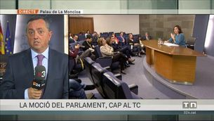 Doble enfrontament entre el govern espanyol i el català