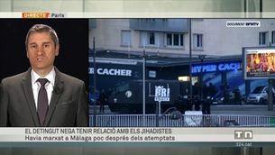 El detingut a Màlaga nega que tingui relació amb els jihadistes