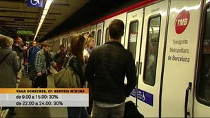 Nova jornada d'aturades parcials al metro