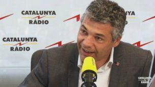 Oriol Amorós, responsable del govern per gestionar l'arribada dels refugiats