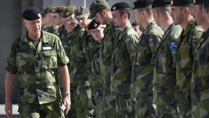 Soldats suecs (REUTERS)