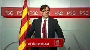 El PSC insta el govern a rectificar i al diàleg després de la sentència pel 9-N