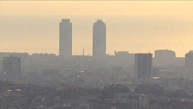 La contaminació a Barcelona continua sent un greu problema per a la salut de la població