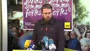 Vidal Aragonès, diputat de la CUP