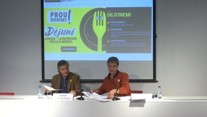 Partits, entitats i municipis es coordinen en suport a la vaga de fam dels presos
