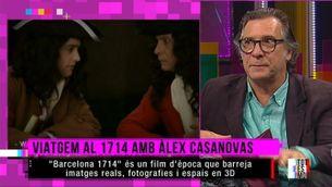 Àlex Casanovas viatja al 1714