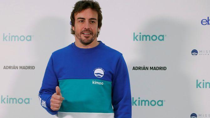 Fernando Alonso ha fet una donació solidària com a ambaixador d'Unicef