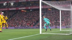 Resum de l'Athletic Club - Barça (1-0)