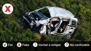 """Les assegurances no et cobreixen si tens un accident de cotxe fent una activitat no permesa per l'estat d'alarma? """"Fets o Fakes"""", l'espai de verificació del """"Catalunya migdia"""""""
