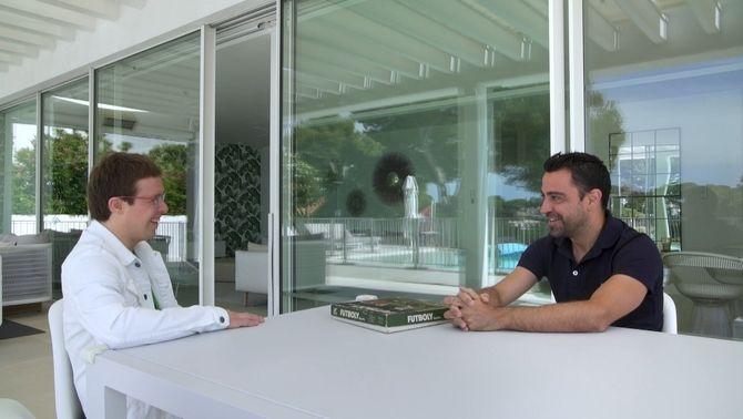 "Xavi Hernández: ""Posaré totes les meves forces a aconseguir ser entrenador del Barça"""