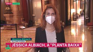 """Jéssica Albiach (En Comú Podem): """"El pas d'ERC obre a superar els blocs. És una oportunitat"""""""