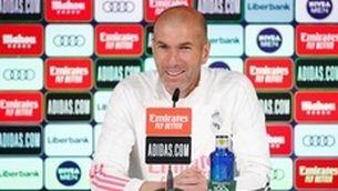 """Zidane: """"No penso en el meu futur, només en els tres partits que ens queden"""""""