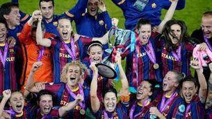 Placa d'Or al mèrit esportiu al Barça femení