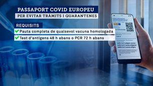 El passaport Covid, una eina que no tothom podrà tenir