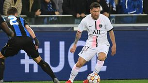 Messi i el PSG s'estavellen a Bruges (1-1)