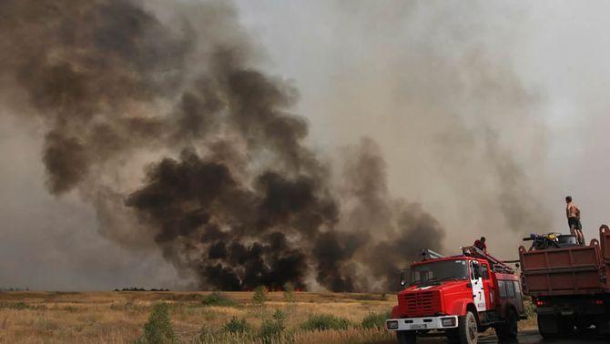 Es redueix a la meitat la superfície afectada pels incendis a Rússia, entre la qual hi ha zones contaminades per l'accident de Txernòbil