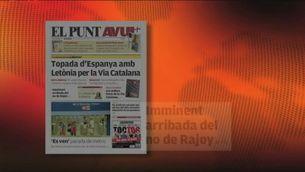 Les portades esperen la resposta de Rajoy