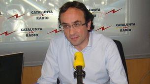 El coordinador general de Convergència, Josep Rull.