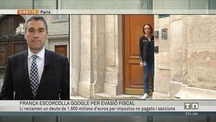 França escorcolla la seu de Google per evasió fiscal