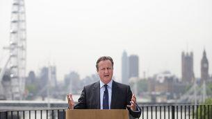 El primer ministre britànic, David Cameron (Reuters)