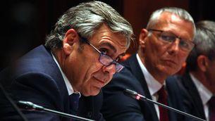 Daniel de Alfonso, director de l'Oficina Antifrau, en la Comissió d'Afers Institucionals del Parlament