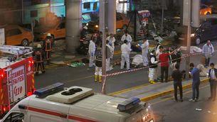 L'aeroport de Turquia després de l'atemptat suïcida