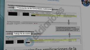 Cristina Cifuentes, acusada de falsejar les notes d'un màster