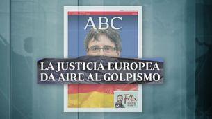 Així ha reaccionat la premsa d'aquí i de Madrid a la decisió sobre Puigdemont