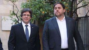 Oriol Junqueras i Carles Puigdemont