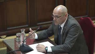 """Romeva: """"Today it is us, but tomorrow it could be anyone"""""""
