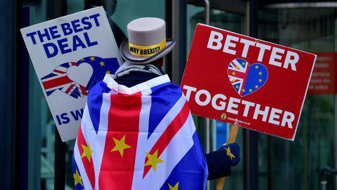 Desgel en les negociacions del Brexit amb un preacord sobre la frontera irlandesa